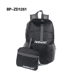Promotional Super Lightweight foldable Polyester Backpack Folding Backpack