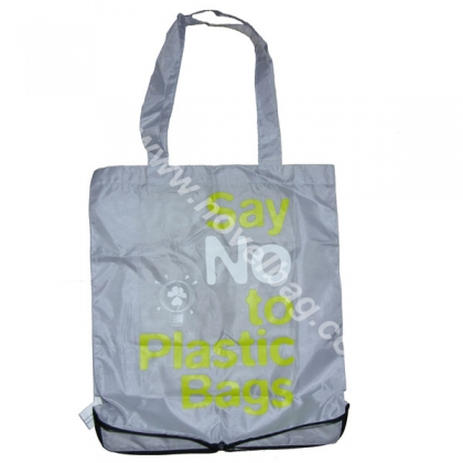 say no to plastic slogans bags