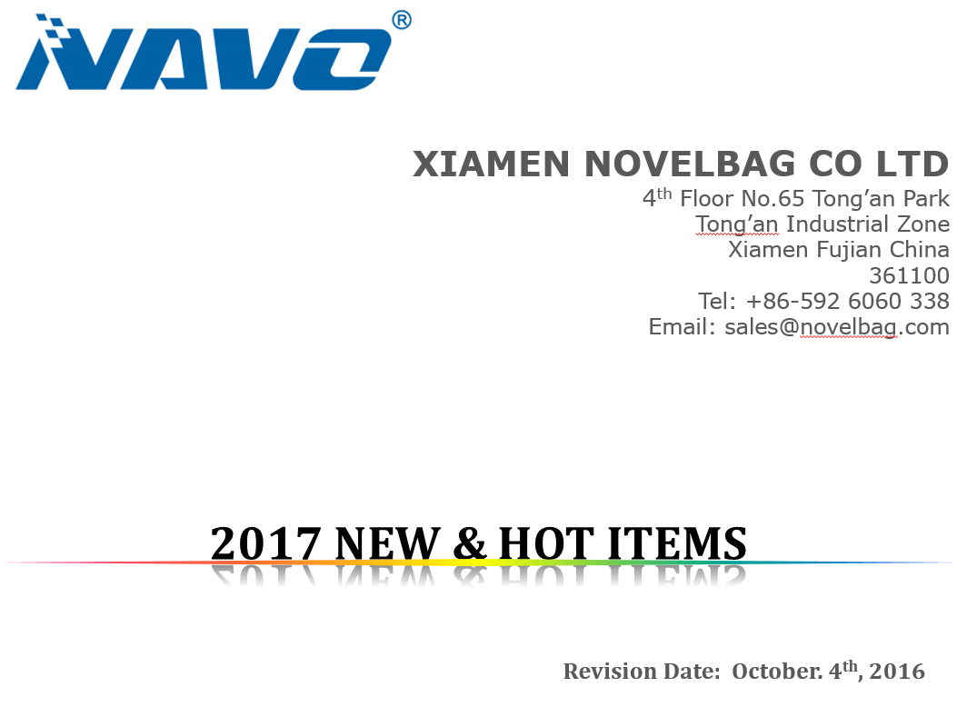 2017 NEW & HOT ITEMS